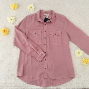 Forever 21 pink flannel
